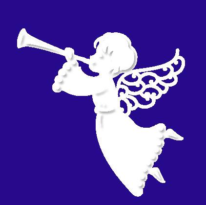 Herald Angel-Engel mit Trompete (3)