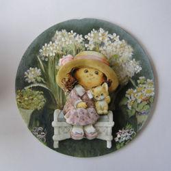 IM100014 3D-Minibild auf runde Scheibe 14cm