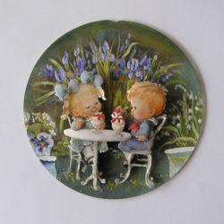 IM100015 3D-Minibild auf runde Scheibe 14cm