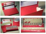 Klappbox mit Seitenfalten