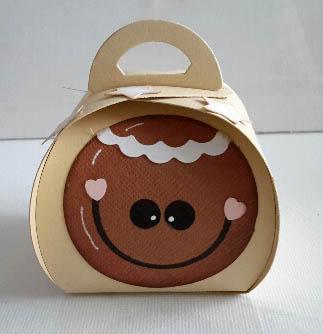 Curvy Keepsake Gift Box Lebkuchensmiley