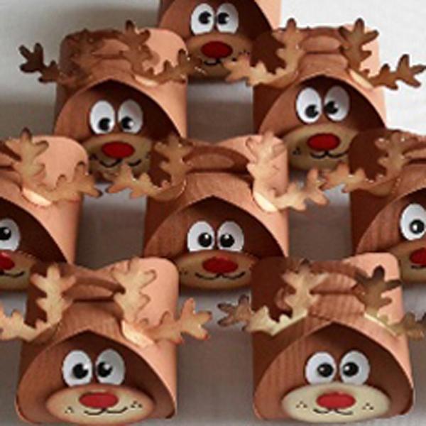 Curvy Keepsake Gift Box Rudolf2