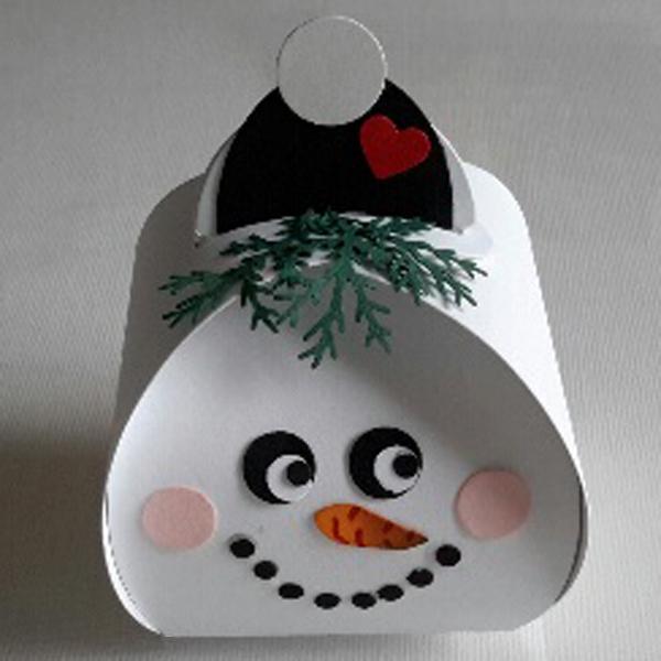 Curvy Keepsake Gift Box Schneemann1