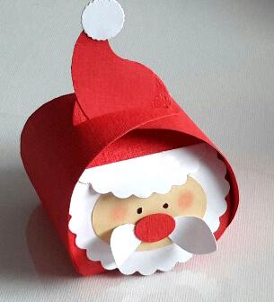 Curvy Keepsake Gift Box Weihnachtsmann1