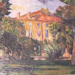 Das Haus in Jas de Bouffan (Cèzanne)