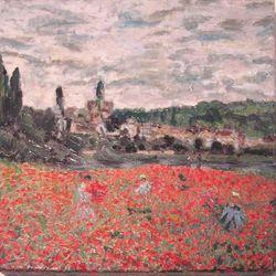 Mohnfeld bei Vétheuil (Monet)