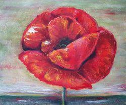 Gr.Mohnblume, überarbeitet mit Easy-Painting