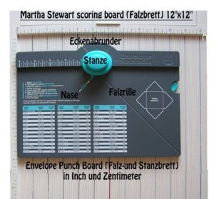 Highlight for Album: Envelope Punch Board und Falzbrett