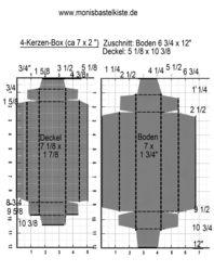 4Kerzen-Box