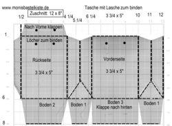 Tasche mit Lasche (Ursus)