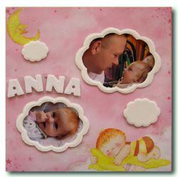 Bilderrahmen-30x30-Baby-anna