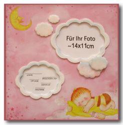 Bilderrahmen-30x30-Baby-rosa