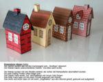 Brownstone Häuser-Reihe