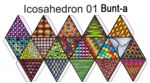 Icosahedron-bunt FarbeB