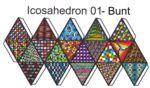 Icosahedron-bunt FarbeA