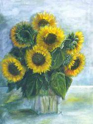 Sonnenblumen/2003 VERKAUFT