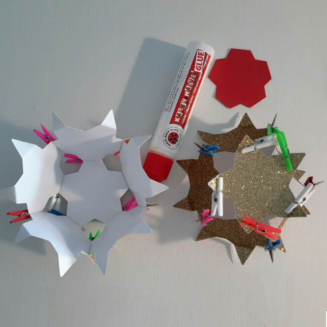 3D-Sternenkugel:  2 Hälfte