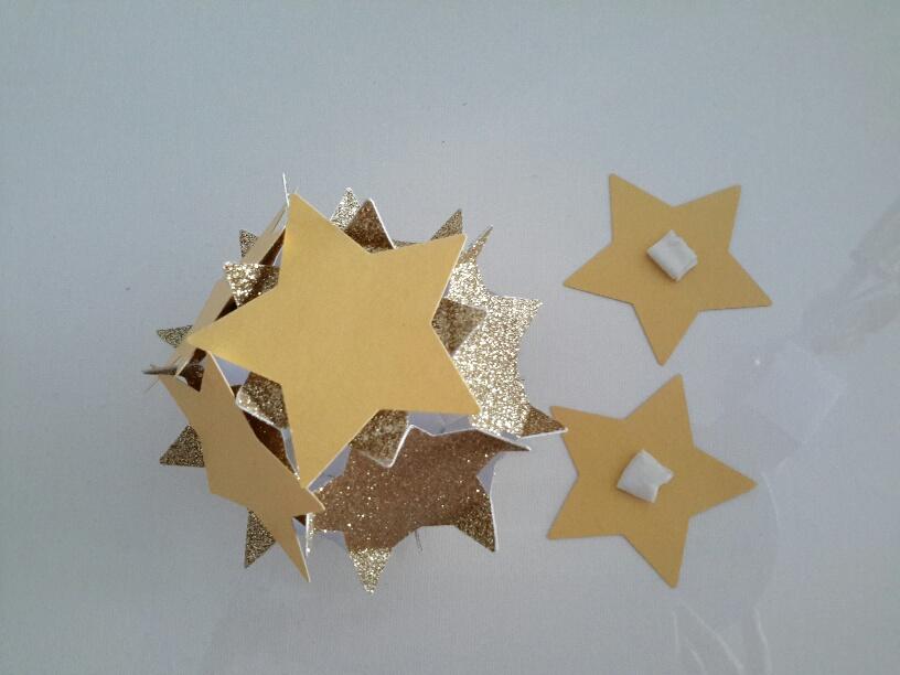 3D-Sternenkugel mit einer Schicht