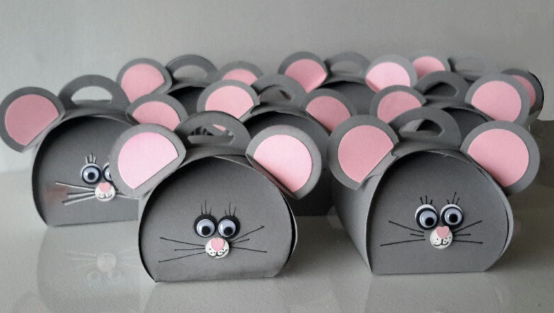 Curvy Keepsake Gift Box  graue Maus-3