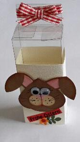 Großer Hase auf Schachtel-1