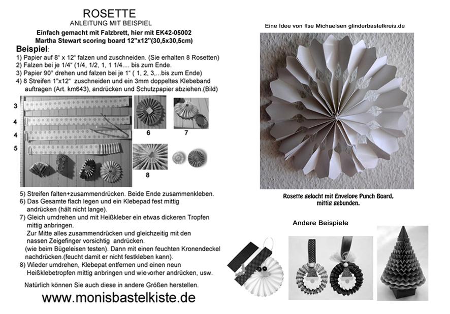 rosette -Anleitung-sw