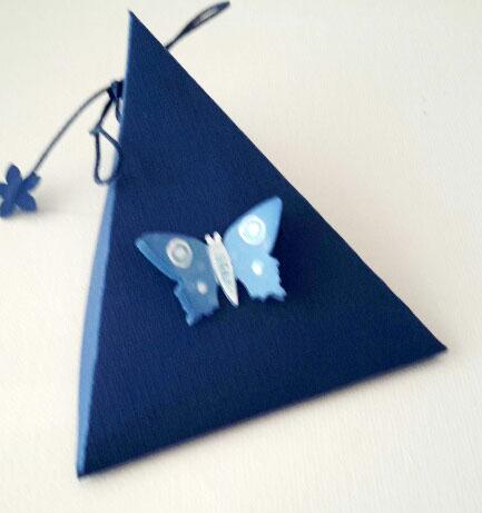 Dreieckschachtel in Blau1