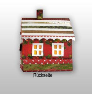 Haus mit Box-Rückseite