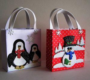 Marianne Design Geschenktasche Winter