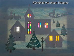 Bild 24x30cm vor einen Fenster