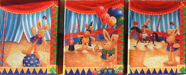 Felix-Zirkus 3 Teiler