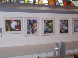 Bilder 18,19,20,21 19 und 20 bei Iris-Blume inspiriert 21: Calla in Brasilien gemalt